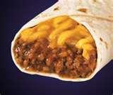 photos of Chicken Rice And Cheese Burrito