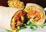 Chicken Rice And Cheese Burrito pictures