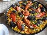 images of Gourmet Seafood Paella Recipe