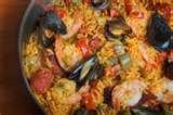 images of Paella Recipes With Shrimp Chicken And Chorizo