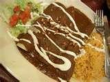 Easy Chicken Enchiladas With Mole Sauce | Mexican Food Recipes