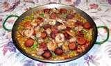 photos of Paella Recipes With Shrimp Chicken And Chorizo