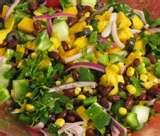 Tuna And Mixed Bean Mexican Salad pictures