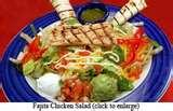 pictures of Chilled Mexican Salad With Tomatoes And Beans