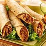 How To Make Flautas With Green Chili pictures