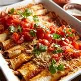 images of Mexican Food Recipes Enchiladas