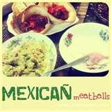 images of Mexican Meatballs