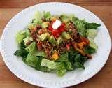 images of Taco Salad Recipe No Beans