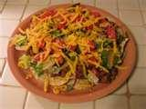 images of Taco Salad Recipe Salsa