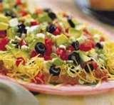 Mexican Food Recipes 7 Layer Dip images