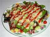 Taco Salad Recipe With French Dressing images